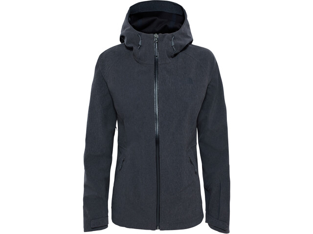 The North Face APEX Flex GTX Shell Jacket Dame tnf dark grey heather